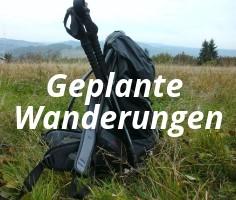 Geplante Wanderungen - Foto: privat