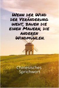Wenn der Wind der Veränderung weht, Unbekannt - Gestaltung: privat