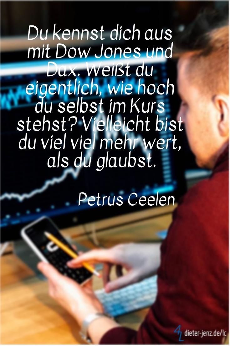 Du kennst dich aus mit Dow Jones und Dax, P. Ceelen - Gestaltung: privat