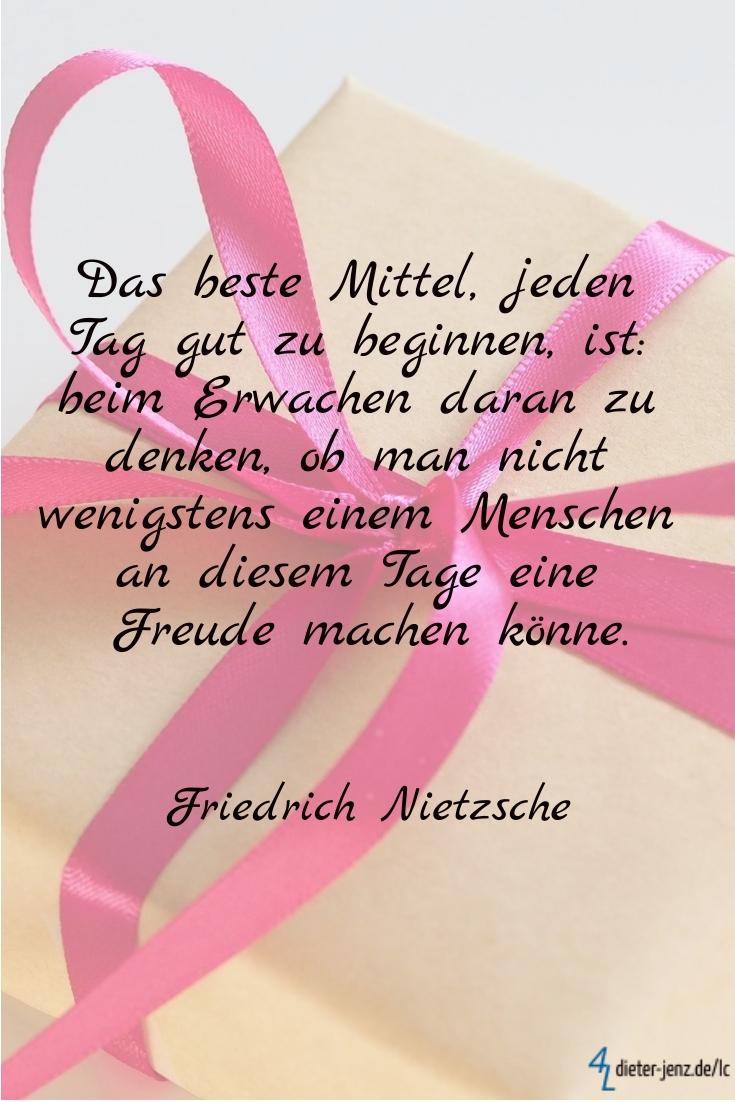 Das beste Mittel, F. Nietzsche - Gestaltung: privat