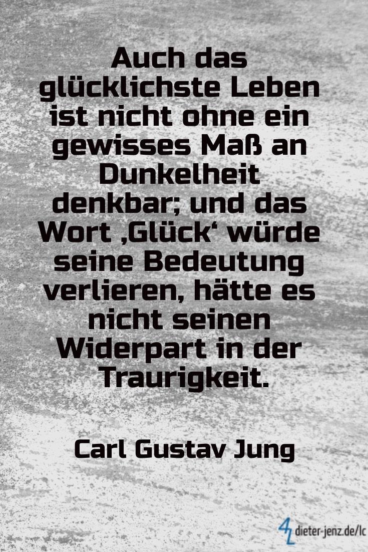Auch das glücklichste Leben, C.G. Jung - Gestaltung: privat