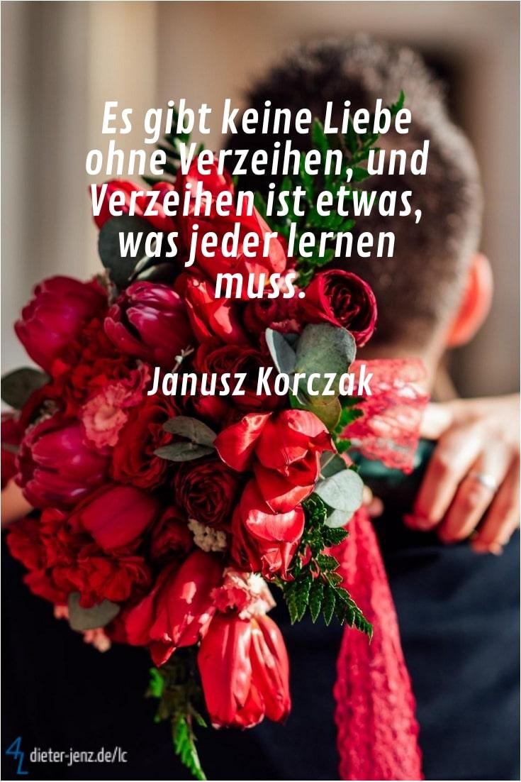 Es gibt keine Liebe ohne Verzeihen, J. Korczak - Gestaltung: privat