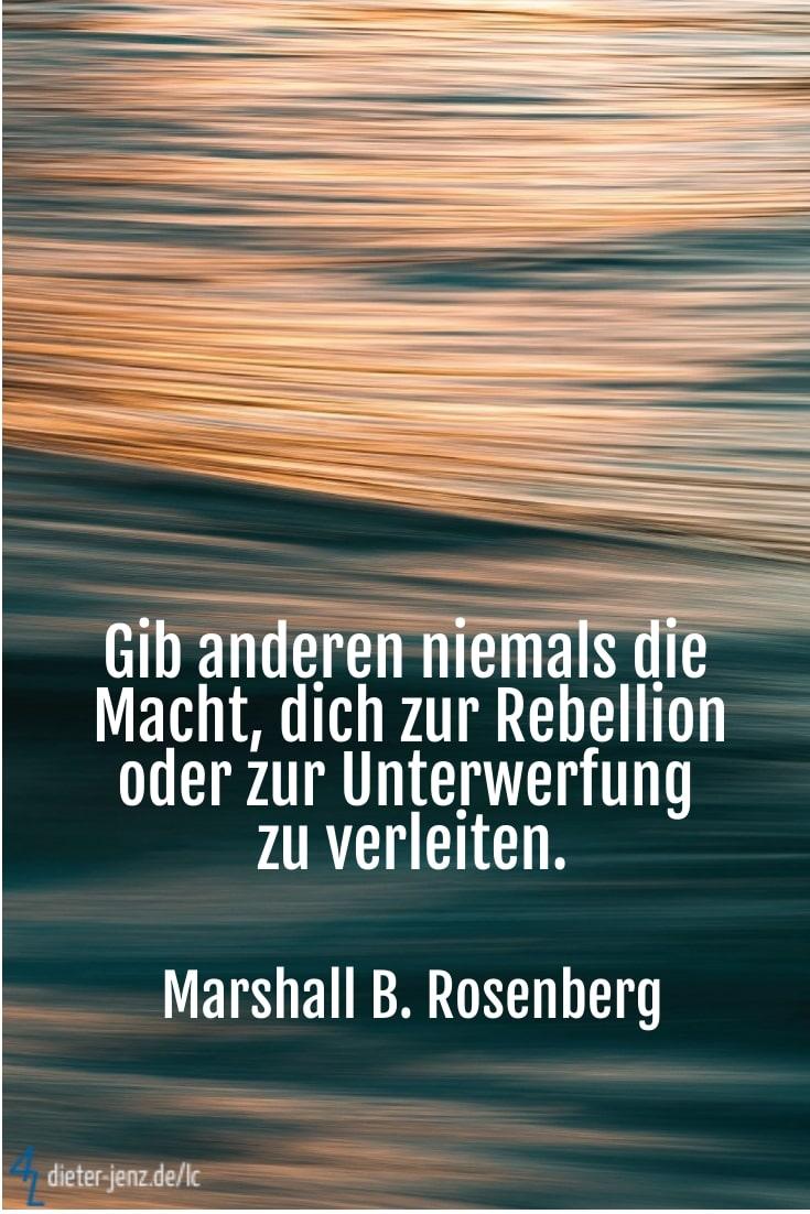 Gib anderen niemals die Macht, M. Rosenberg - Gestaltung: privat