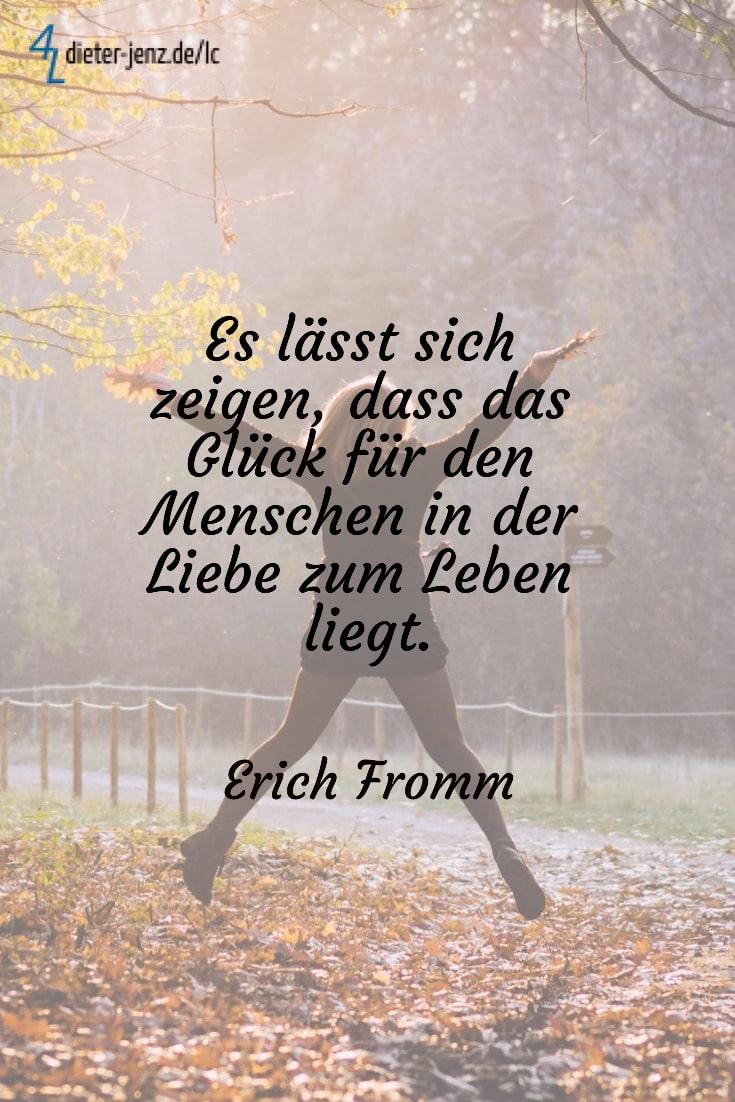 Es lässt sich zeigen dass das Glück, E. Fromm - Gestaltung: privat