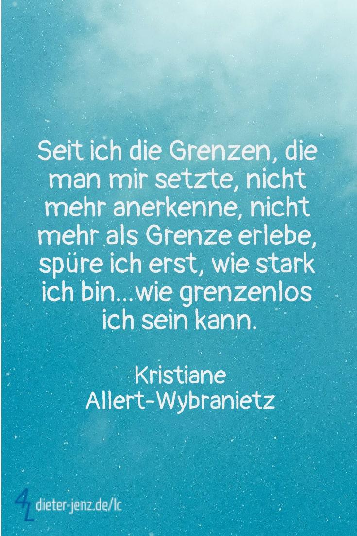 Seit ich die Grenzen nicht mehr anerkenne, K. Allert-Wybranietz - Gestaltung: privat