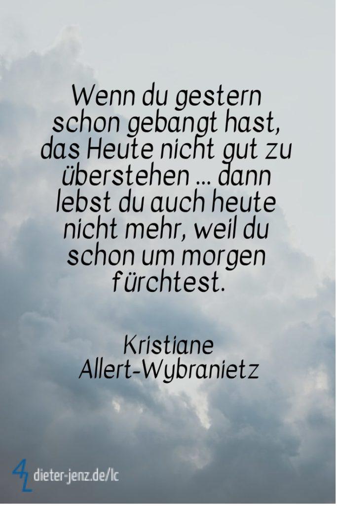 Wenn du gestern schon gebangt hast, K. Allert-Wybranietz - Gestaltung: privat