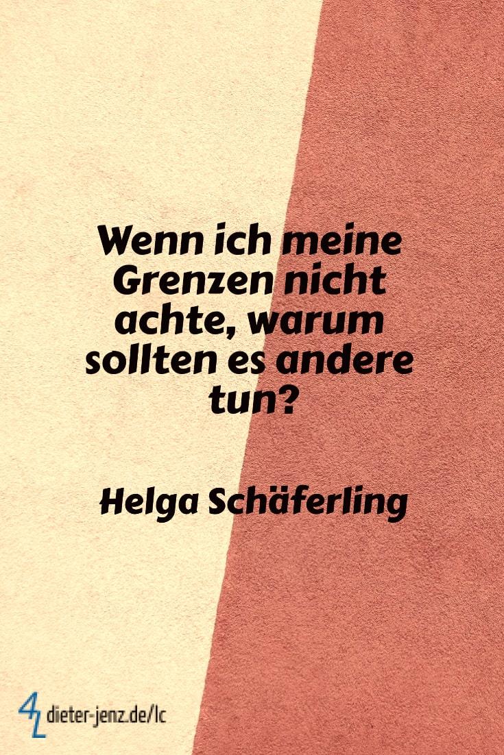 Wenn ich meine Grenzen nicht achte, H. Schäferling - Gestaltung: privat